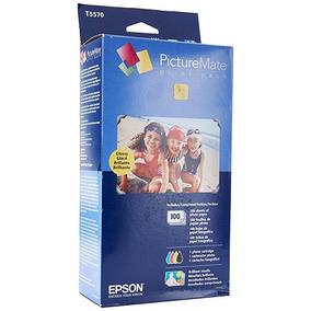 Tinta Epson A 6 Colores/papel Photo 4x6 100 Hojas