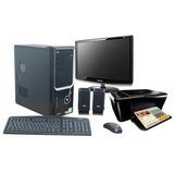Computadora Nueva Atx + Lcd 17 + Impresora Multifuncion !!!!