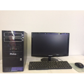 Computador Core I3/4gb/500/hdmi + Monitor 17