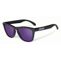 Oakley Frogskins Matte Blk W/ Violet Irid