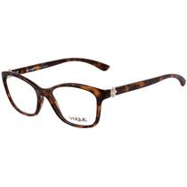 Vogue Vo 2904 Bl - Óculos De Grau W656 Marrom Mesclado -