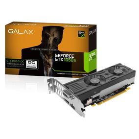 Geforce Galax Gtx Gtx 1050 Ti Oc Low Profile 4gb Ddr5 128bit