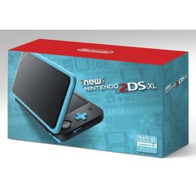 Nintendo New 2ds Xl Original Com Carregador Lacrado Preto