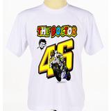 Kit Com 3 Camisas The Doctor 46 Valentino Rossi Moto Gp