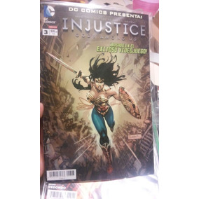 Comics De Coleccion Dc Injustice No.3 Ed. Televisa