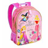 Hermosa Mochila Princesas - Disney Original Usa