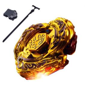 Beyblade Metal Fusion 4d Set Drago Gold + Lançador