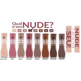 Esmalte Dailus Coleção Nude Cada Um Tem O Seu 8 Cores