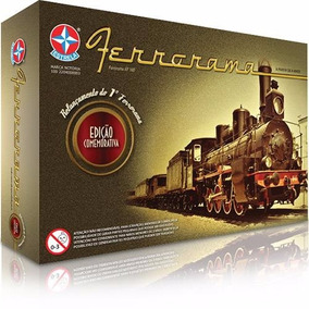 Brinquedo Trem Ferrorama Modelo Xp 100 Original Da Estrela