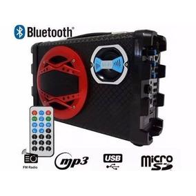 Micro System Caixa Som Amplicada Mp3 Usb Karaoke Sd Hifi Top