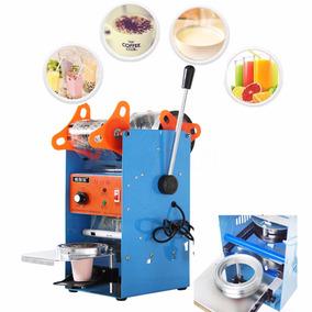Selladora Manual Vasos Plástico Frape Salsas Jugos Té Café