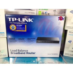 Router Balanceador De 4 Cargas Tp-link R470t+ 5años Gtia