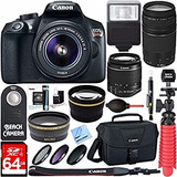 Canon T6 Rebel Kit Completo 2 Lentes 18-55mm Y 75-300mm