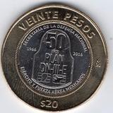 Moneda 20 Pesos 50 Aniversario Plan Dn 3 Iii Envio