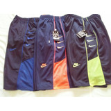 Kit 5 Shorts Nike Masculino Bermuda Bolsos C/zíper_ Promoção