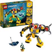 Lego Creator 3 En 1 Robot Submarino 31090