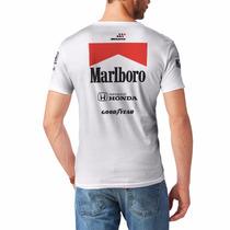 Camiseta F1 Retrô Mclaren Ayrton Senna - Racing Legends