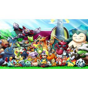 Miniaturas Pokemon Coleção 24 Unid - Brinquedo, Desenho