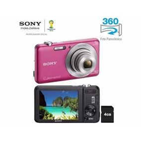 Câmera Digital Cyber-shot 16.1mp Hd Dsc-w710 Sony Top Linha
