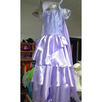Disfraz Vestido De Princesa Mal . Descendientes. 3 En 1