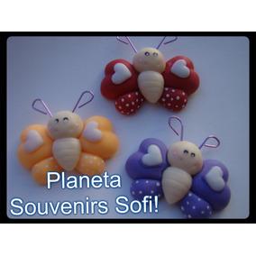 Mariposa Imán Souvenir Infantil Porcelana Fría Imanes
