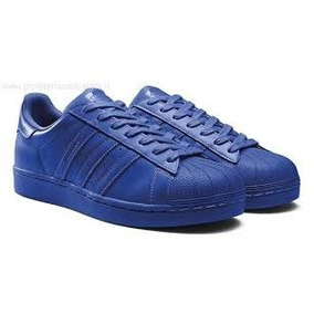 adidas superstar de color azul