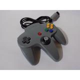 Control Para Nintendo 64 Nuevo Importado ,gris Jostick Perfe