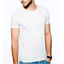 Camisetas 100% Poliéster Branca Sublimação Estampar Atacado