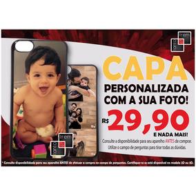 Capa Personalizada Foto Iphone 4 5s 6 7 X 10 Plus Se Capinha