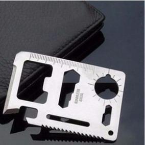 Cartão Edc Survival 11 Em 1 Multi-funções Multi-ferramenta