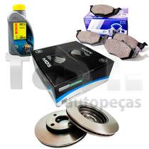 Kit Freio Pastilha Disco E Dot 3 Celta Corsa Classic Prisma