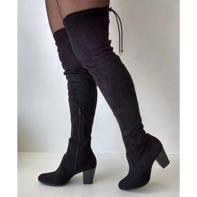 Bota Over The Knee Feminina Via Marte 17-1006 (frete Grátis)