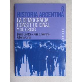 La Democracia Constitucional Y Su Crisis-editorial Paidos-
