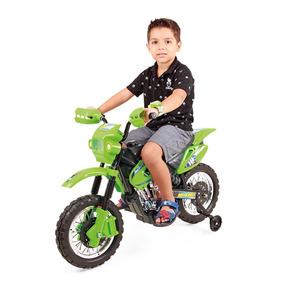 Moto Elétrica Infantil Criança Menino Motocross Homeplay