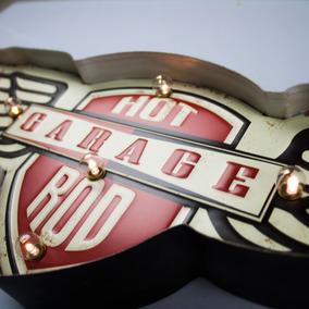 Luminária De Parede Garagem Vintage Para Decoração Promoção