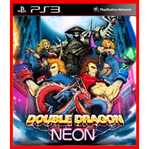 Double Dragon Neon Ps3 Código Psn Aventura Beat N Up