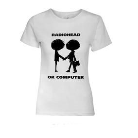 Polera Estampada Mujer Radiohead
