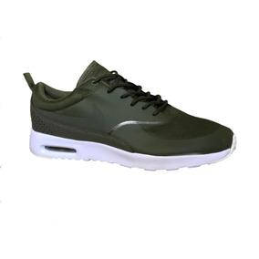 Tenis Nike Thea Verde Mixto
