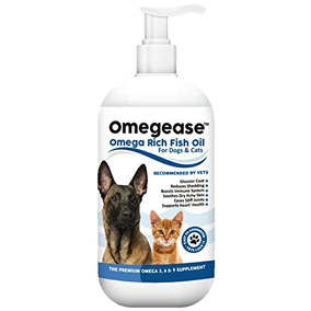 Omegease Omega 3, 6 & 9 Fish Oil For Dogs And Cats, 16 Ounce