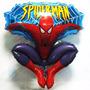 Globo Metalizado Gigante Caminante Spiderman Hombre Araña Tv