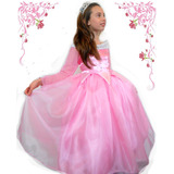 Disfraz Princesa Aurora Bella Durmiente Cenicienta Soy Luna