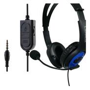 Headset Fone Gamer C/ Microfone Ps4 Xbox One Lehmox
