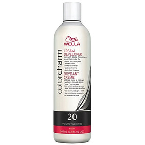 Crema Acondicionadora Wella Colorcharm Volumen 20 946 Ml.