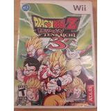 Dragon Ball Z Budokai Tenkaichi 3 Nintendo Wii Original