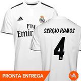496df6400 Camisa Do Real Madrid Infantil Sergio Ramos - Futebol no Mercado ...