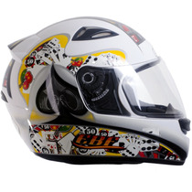 Capacete Esportivo Moto Ebf E0x Cassino 60 Com Entrada De Ar