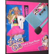 Barbie Dance Club Doll & Cinta Set De Juego W Doll, Cassete