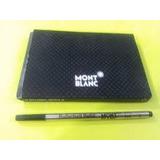 Repuesto Roller Ball Mont Blanc Negro Medio