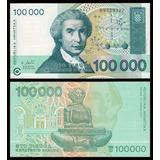 Croacia 1993 - Europa, Billete De 100000 Dinara