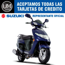Moto Scooter Suzuki An 125 0km Elite Urquiza Motos